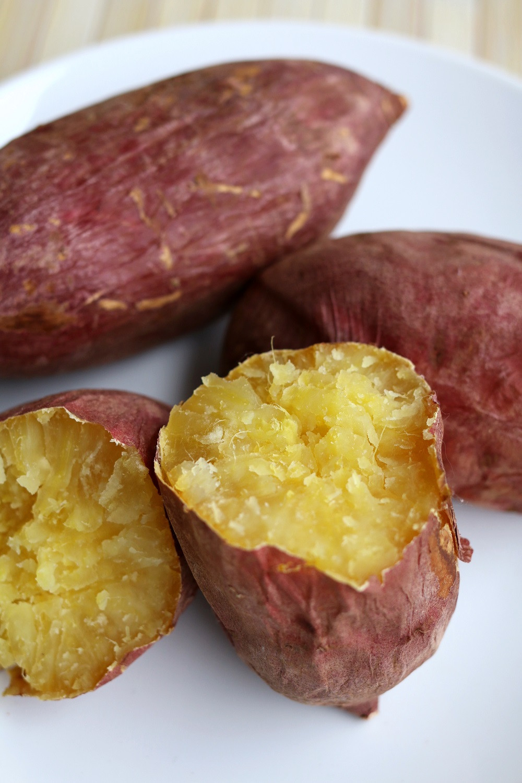Potato In Japanese  Baked Japanese Sweet Potato Yam