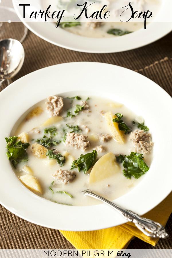 Potato Kale Soup  Light Summer Kale Soup