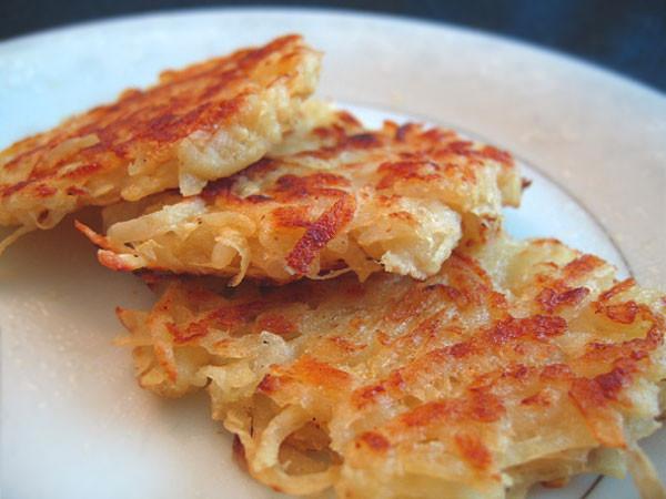 Potato Latke Recipe  Recipe Traditional Potato Latkes for Chanukah The Three