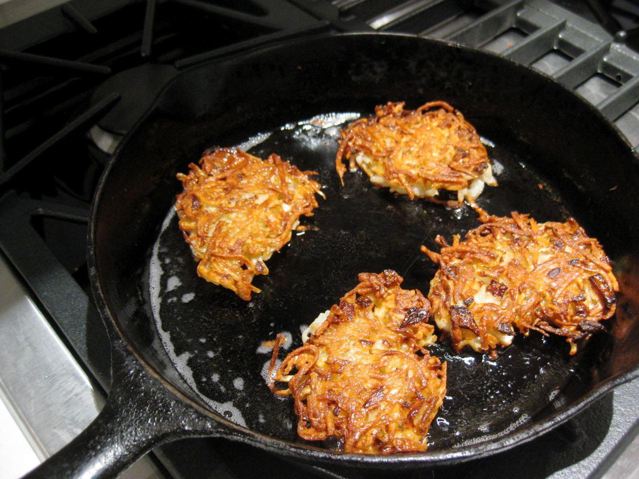 Potato Latke Recipe  Best ever potato latke recipe chatelaine