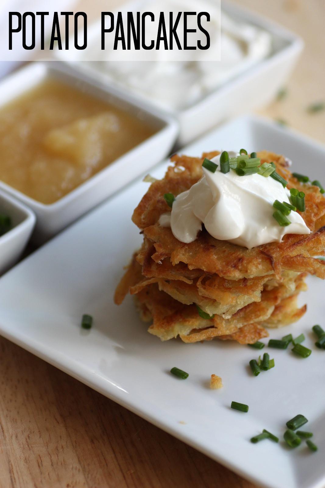 Potato Latke Recipe  Potato Pancake Latke Recipe