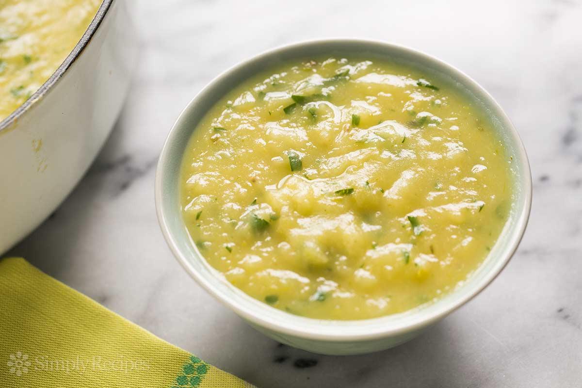 Potato Leak Soup  Potato Leek Soup Recipe