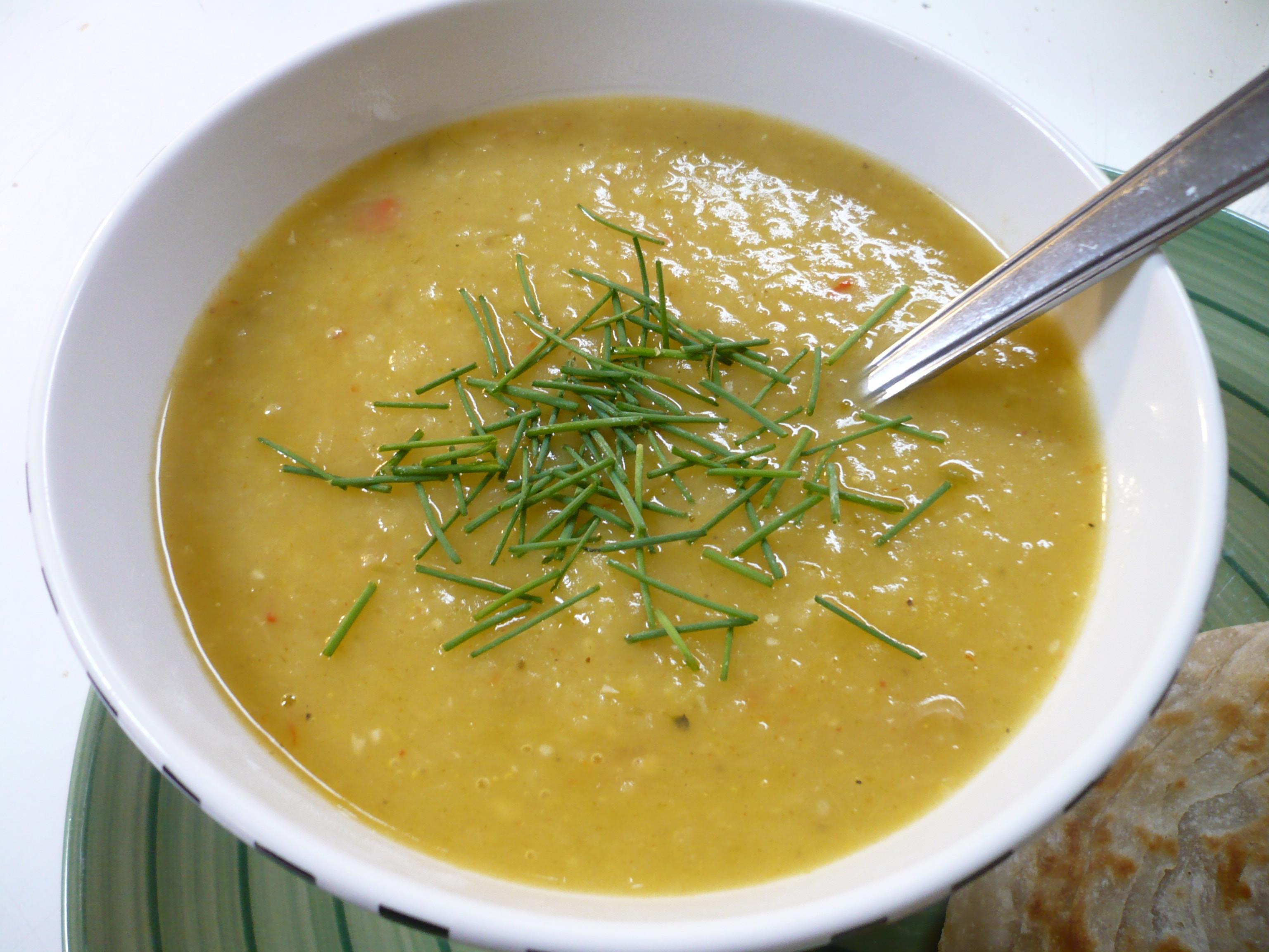 Potato Leak Soup  broccoli