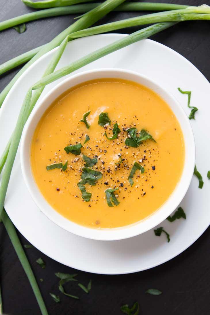Potato Leak Soup  Creamy Potato Leek Soup Vegan Ve arian Gastronomy