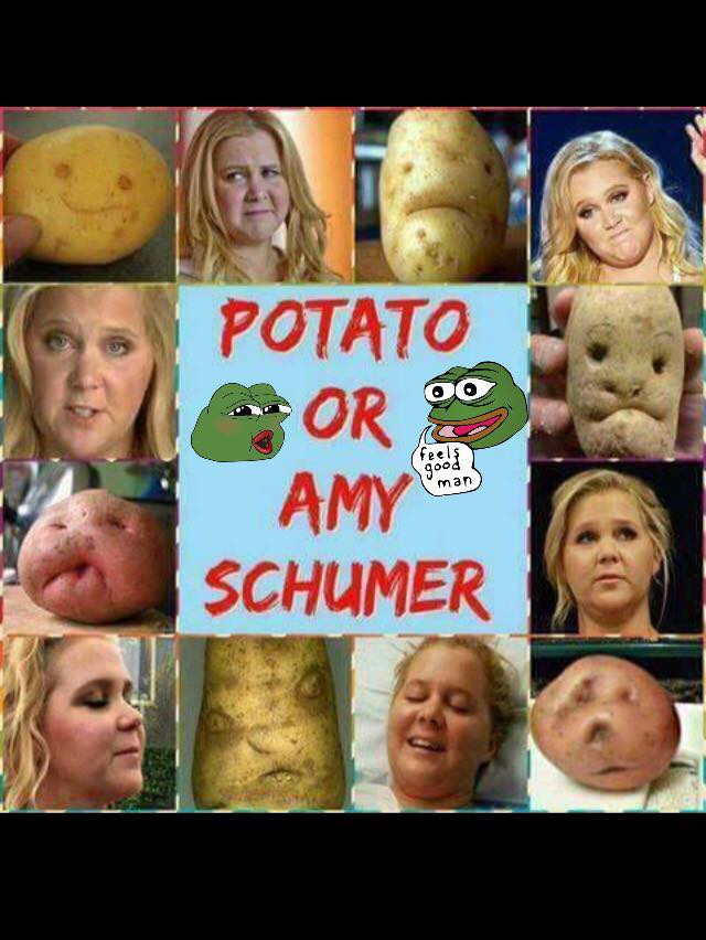 Potato Or Amy Schumer  Let us play a game Amy Schumer or Potato Economics Job