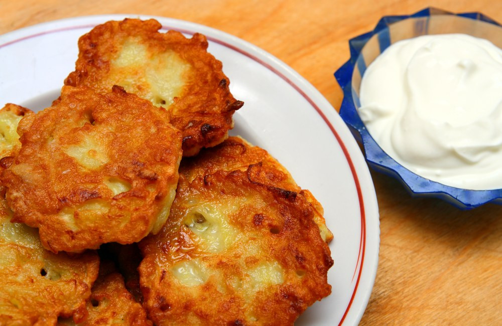 Potato Pancake Recipes  Crispy Traditional Potato Pancakes recipe