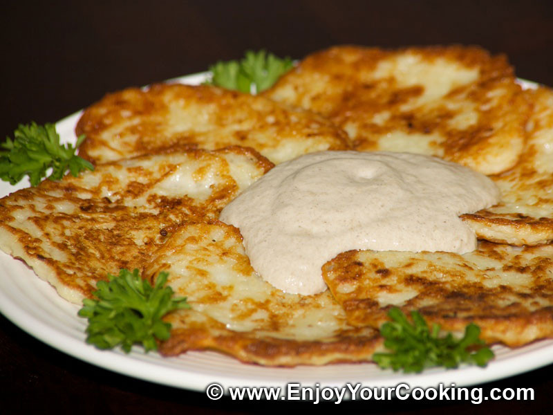 Potato Pancake Recipes  Deruny Potato Pancakes Recipe