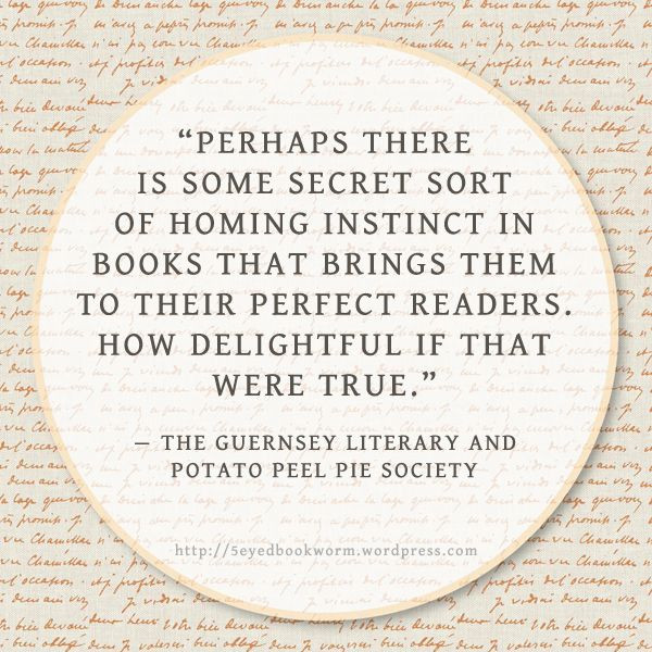 Potato Peel Pie Society  Notable Quotes The Guernsey Literary and Potato Peel Pie