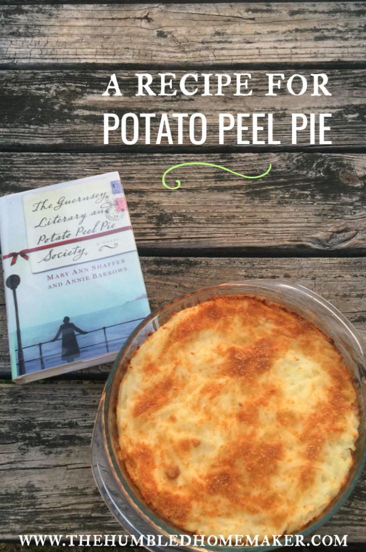 Potato Peel Pie Society  Potato Peel Pie Recipe