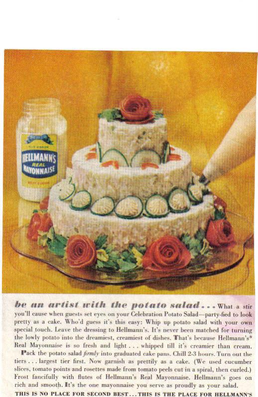 Potato Salad Cake  Potato Salad Cake CakeCentral
