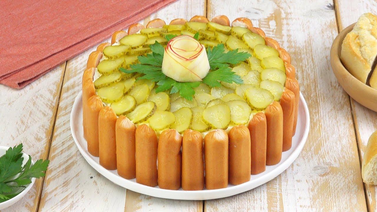 Potato Salad Cake  Celebrate German style with this Potato Salad Cake