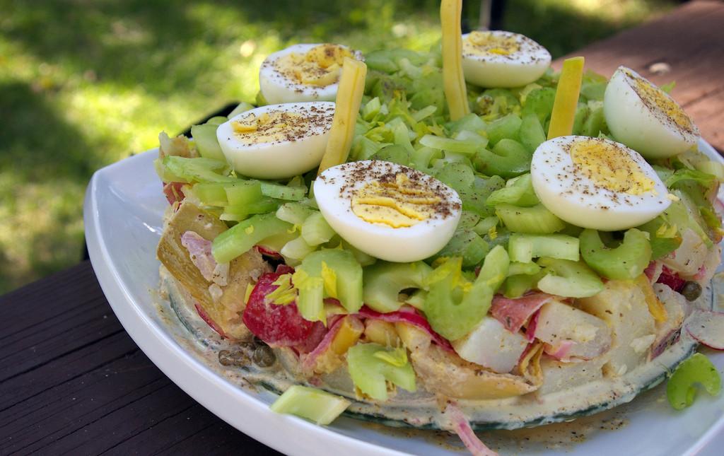 "Potato Salad Cake  Potato Salad ""Cake"" From Dan Clapson"
