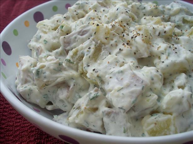 Potato Salad With Sour Cream  Dill And Sour Cream Potato Salad Recipe Food