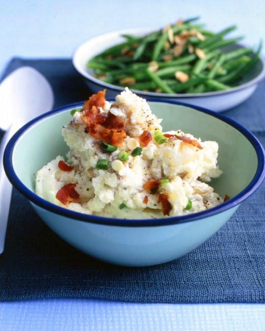 Potato Salad With Sour Cream  Potato Salad with Sour Cream and Scallions Recipe & Video