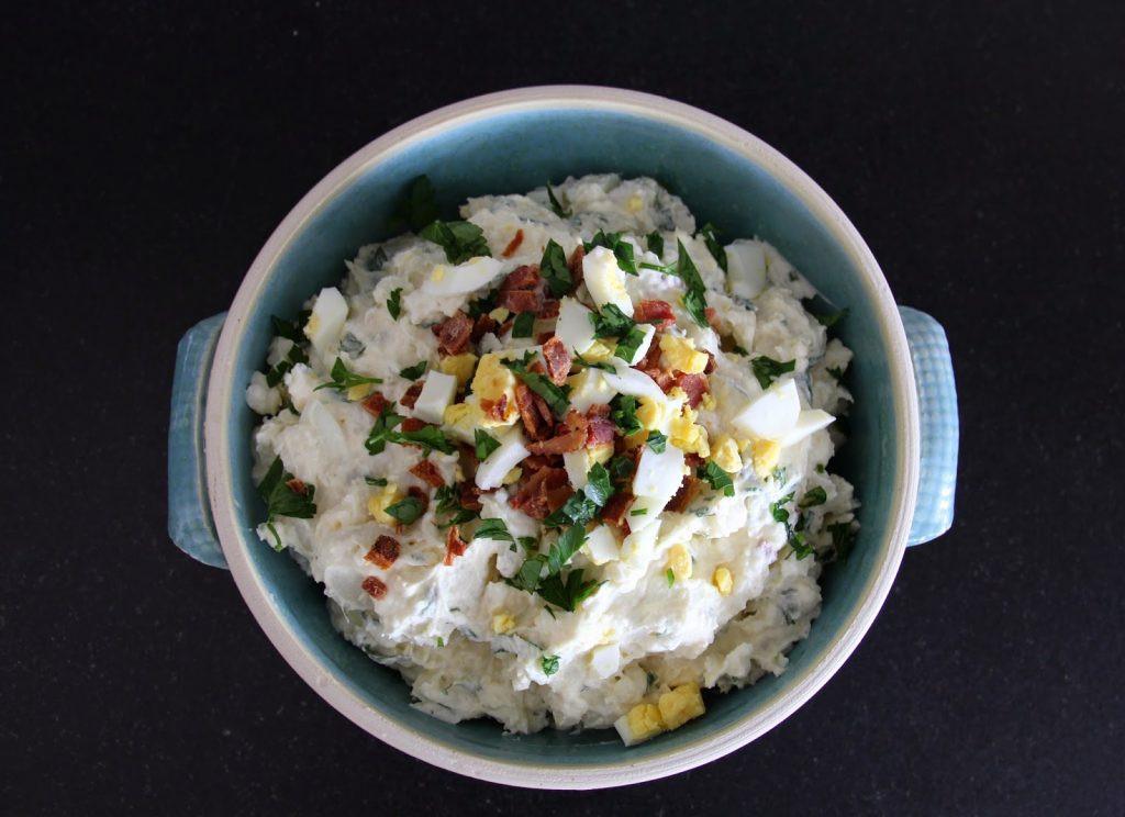Potato Salad With Sour Cream  Sour Cream and Bacon Potato Salad