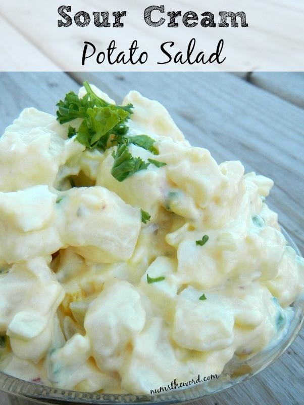 Potato Salad With Sour Cream  Sour Cream Potato Salad NumsTheWord
