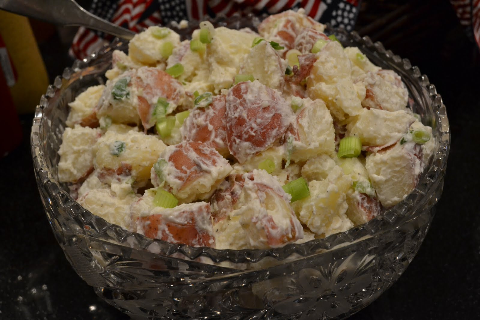 Potato Salad Without Eggs  Non egg red potato salad LaForce Be With You