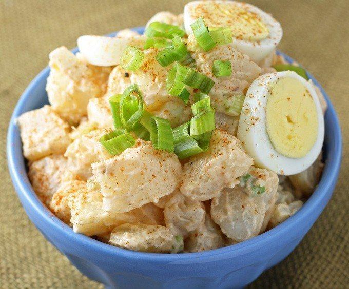 Potato Salad Without Eggs  Potato Egg Salad Honey and Birch