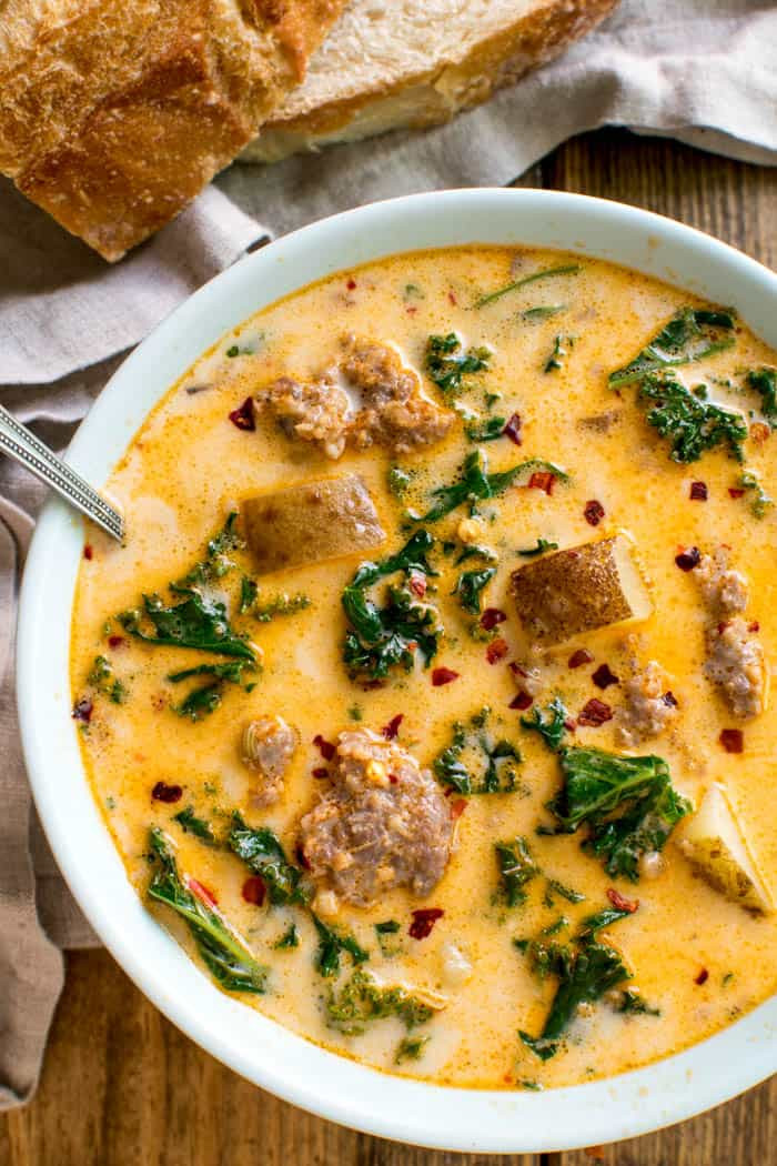 Potato Sausage Soup  Tuscan Sausage Potato Soup