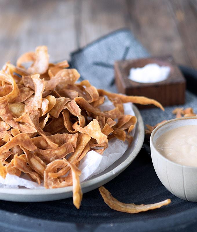 Potato Skin Chips  Potato Skin Chips – Waste to Wonderful