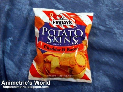 Potato Skin Chips  TGIFriday s Potato Skins Snack Chips Animetric s World