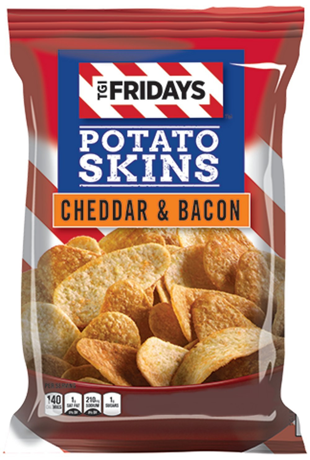 Potato Skin Chips  Amazon TGI Fridays Cheddar and Sour Cream Potato