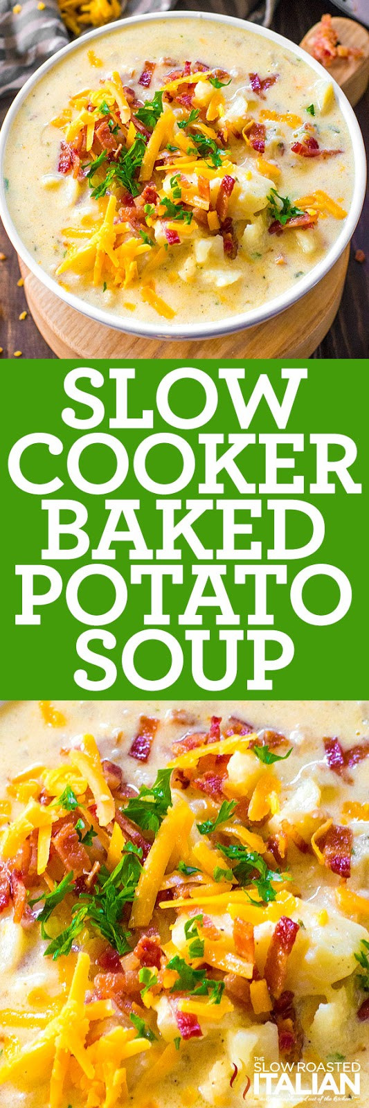 Potato Soup Slow Cooker  Slow Cooker Potato Soup With Video