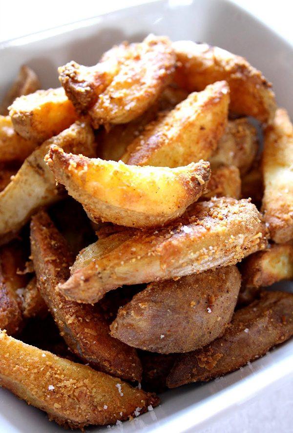 Potato Wedge Recipes  Cheesy Spicy Potato Wedges Recipe – Homemade Potato Wedges