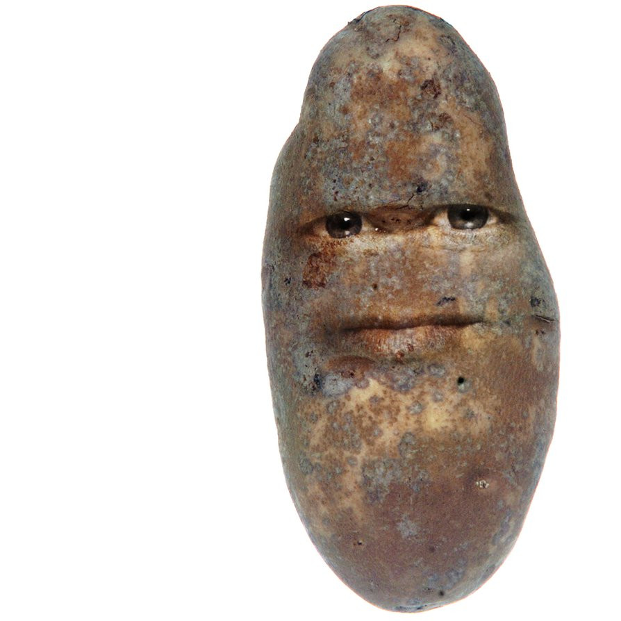 Potato With A Face  Potato by cloeman on DeviantArt