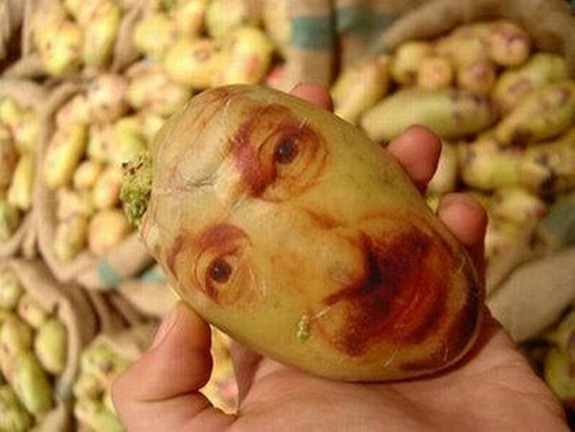 Potato With A Face  Potato Face People Are Looking Back At You