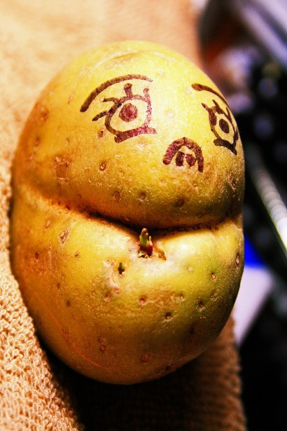 Potato With A Face  9 Ways to HAVE FUN outdoors in the ninth month of the year
