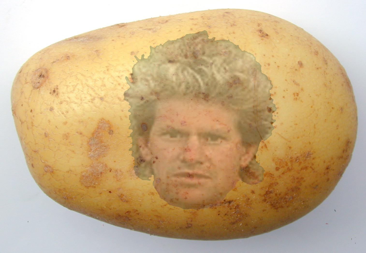 Potato With A Face  Galbally Girl Finds Face of Plunkett Donaghy in Potato