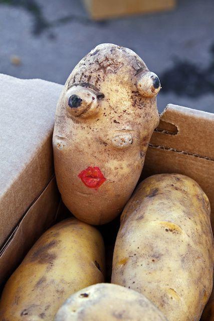 Potato With A Face  Mashed Potato