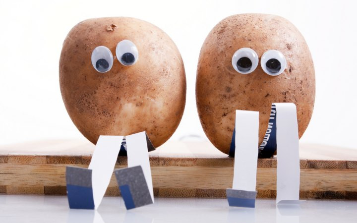 Potato With Eyes  Do Potatoes See With Their Eyes
