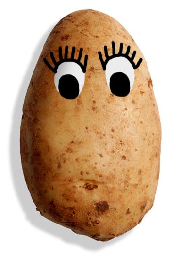 Potato With Eyes  Mrs Potato Head