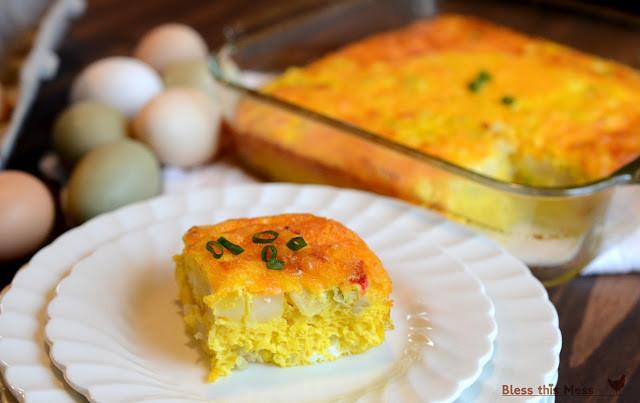 Potatoes O Brien Breakfast Casserole  Easy Egg and Potato Breakfast Casserole Bless This Mess