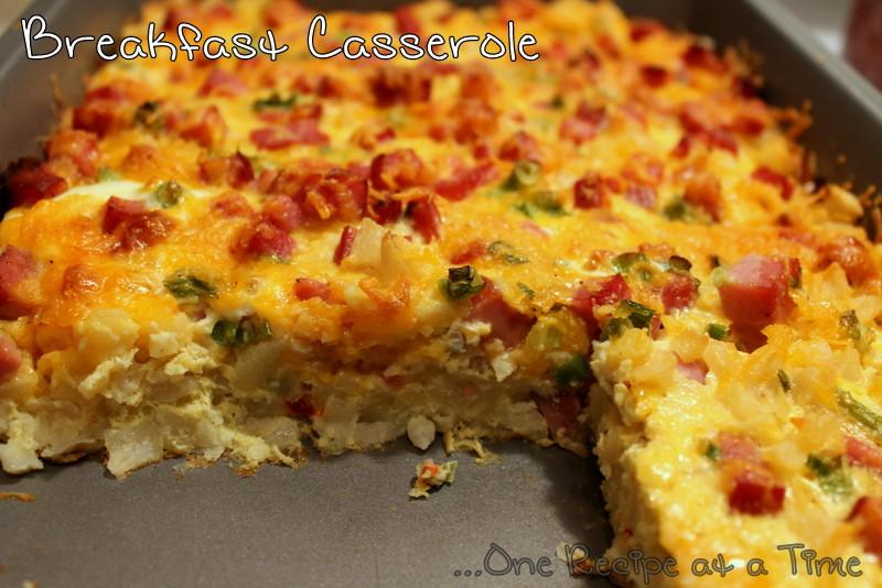 Potatoes O Brien Breakfast Casserole  Learning the Ropes e Recipe at a Time Breakfast Casserole