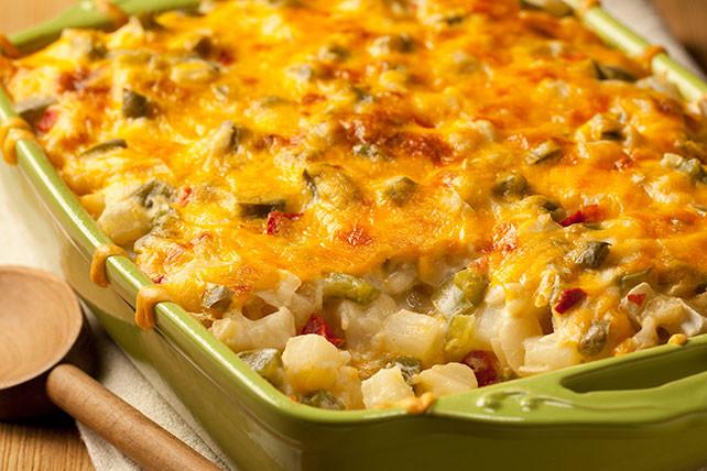Potatoes O Brien Breakfast Casserole  Easy Potatoes O Brien Au Gratin Kraft Recipes