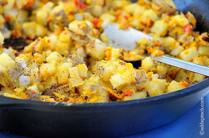 Potatoes Recipe For Breakfast  Breakfast Potatoes Recipe Add a Pinch