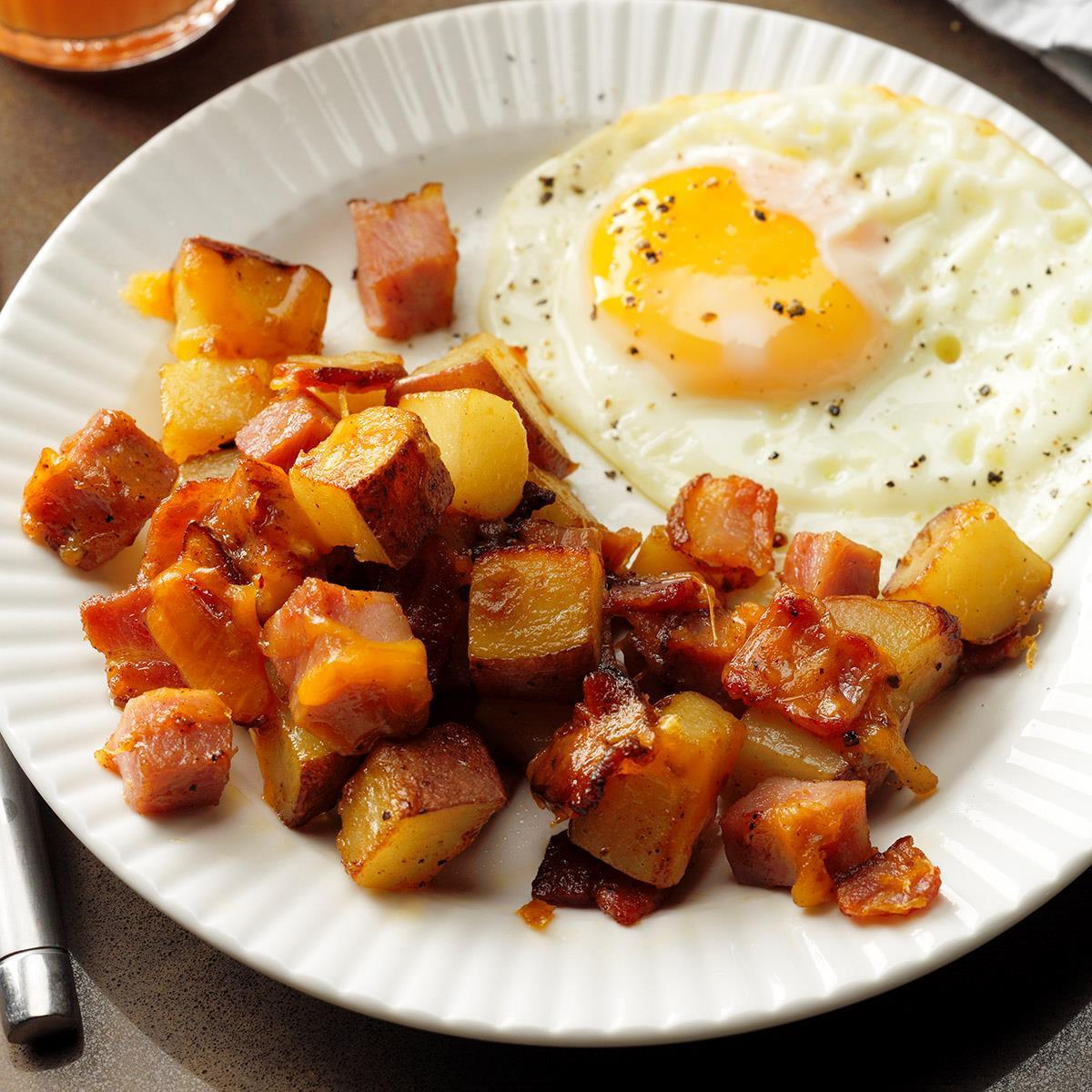 Potatoes Recipe For Breakfast  Loaded Breakfast Potatoes Recipe