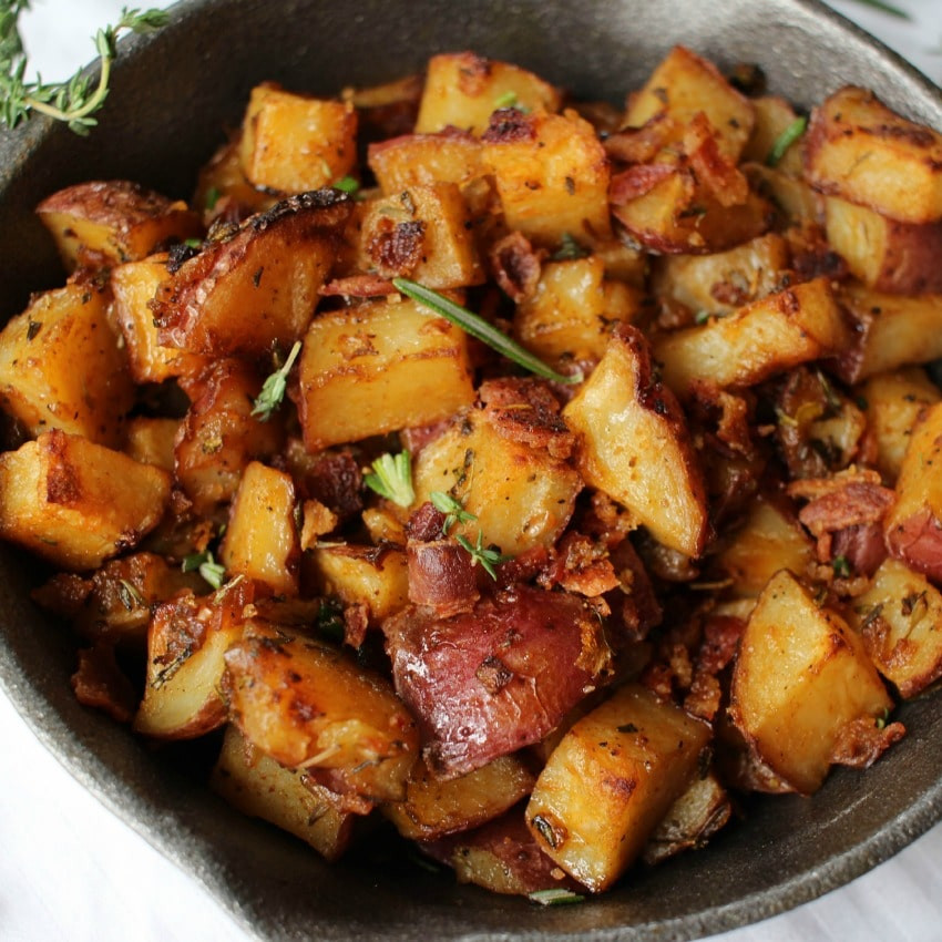 Potatoes Recipe For Breakfast  Oven Roasted Breakfast Potatoes The Chunky Chef