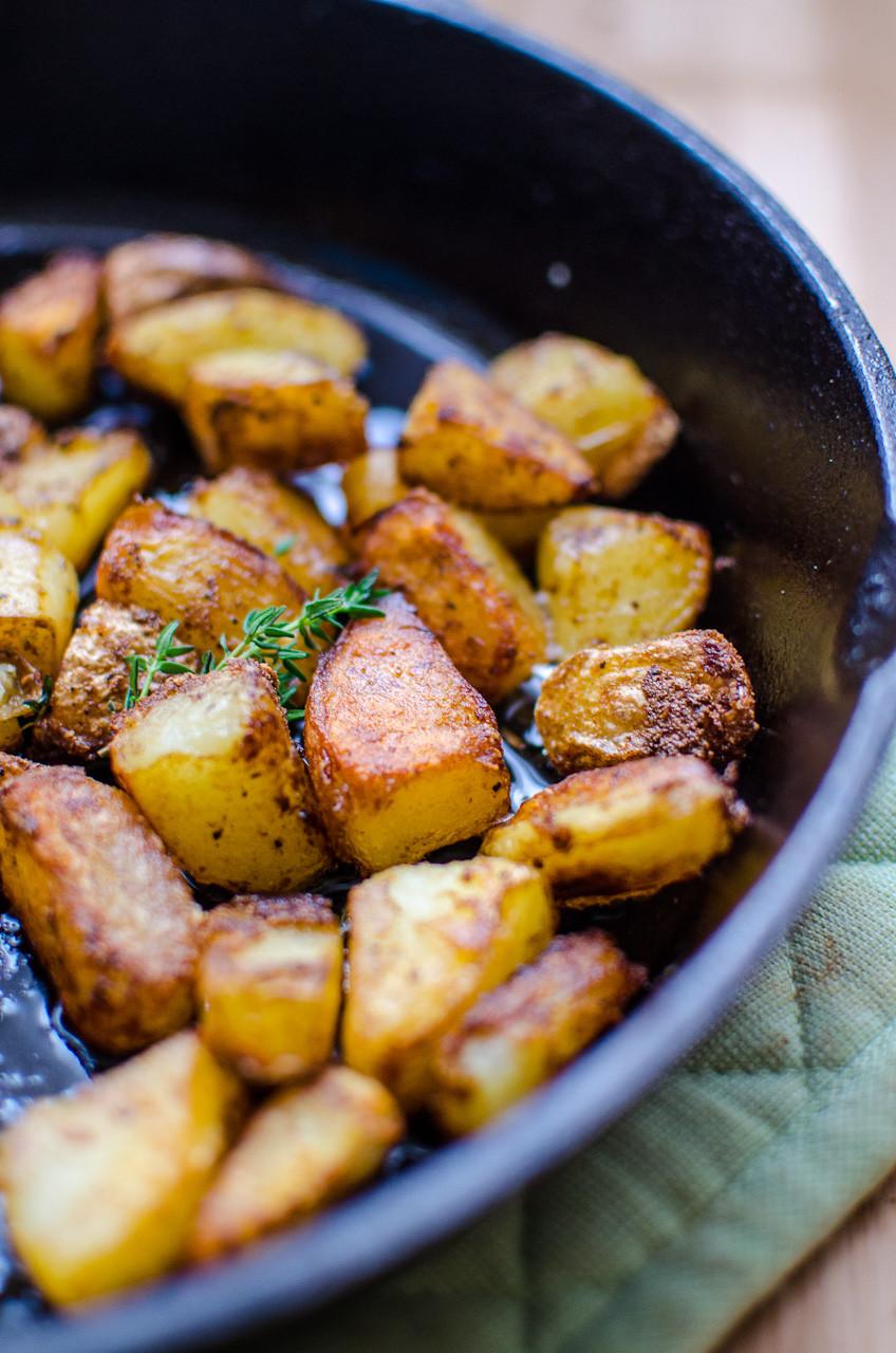 Potatoes Recipe For Breakfast  Duck Fat Breakfast Potatoes Diane A Broad
