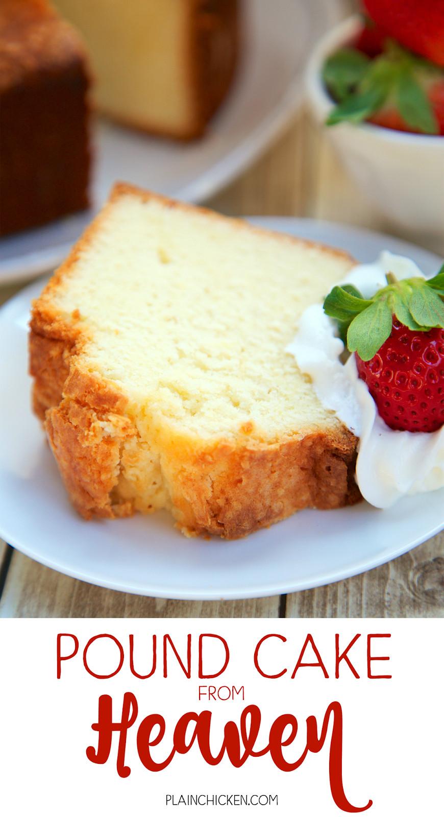 Pound Cake Desserts  Pound Cake from Heaven