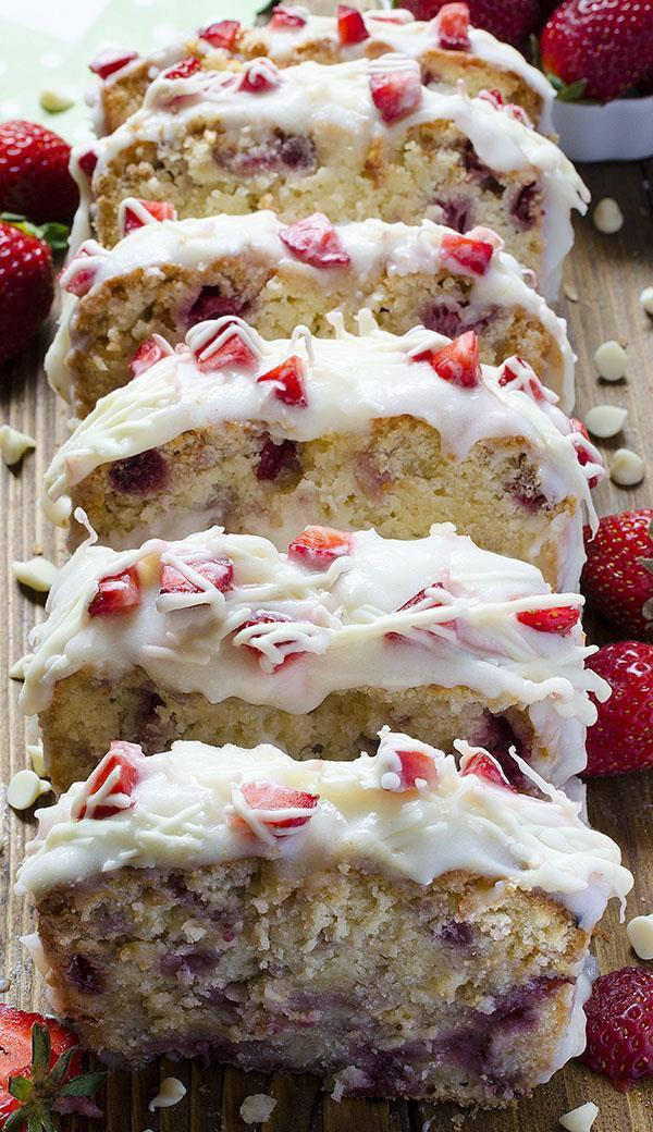 Pound Cake Desserts  Strawberry Pound Cake