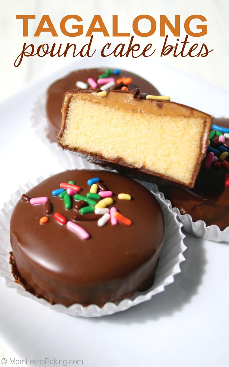 Pound Cake Desserts  Tagalong Pound Cake Bites Mom Loves Baking