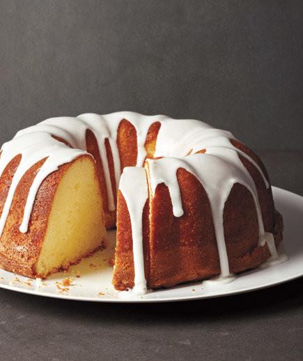 Pound Cake Glaze  Glazed Lemon Pound Cake