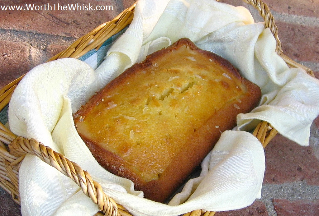 Pound Cake Glaze  Glazed Lemon Pound Cake Worth The Whisk
