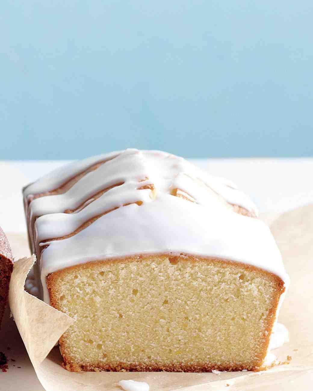 Pound Cake Glaze  Citrus Glazed Pound Cake Recipe