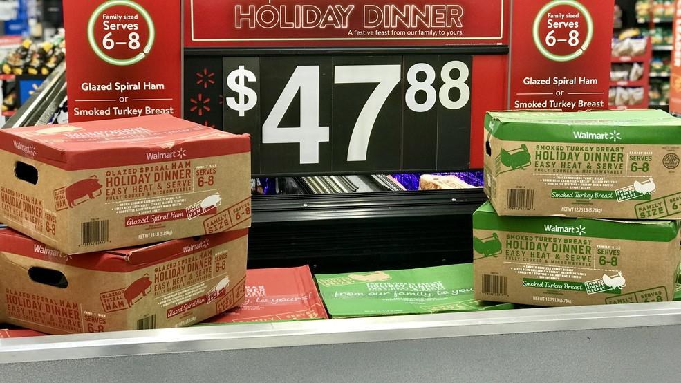 "Pre Cooked Thanksgiving Dinner Walmart 2018  Walmart starts selling ""Thanksgiving Holiday Dinner"" kits"