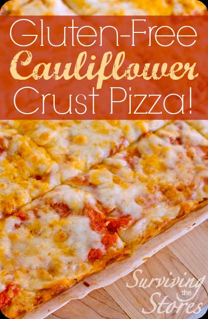 Premade Cauliflower Pizza Crust  cauliflower pizza crust frozen